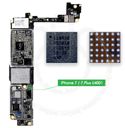 Details about 610A3B USB U2 Charging Power IC Tristar U4001 Chip for iPhone  7 iPhone 7 Plus +