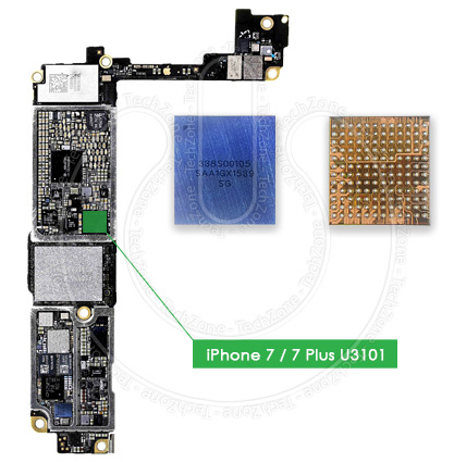 outlet store 3014e 8010c Details about U3101 Main Audio IC 338S00105 BGA Chip for Fix iPhone 7,  iPhone 7 Plus Audio